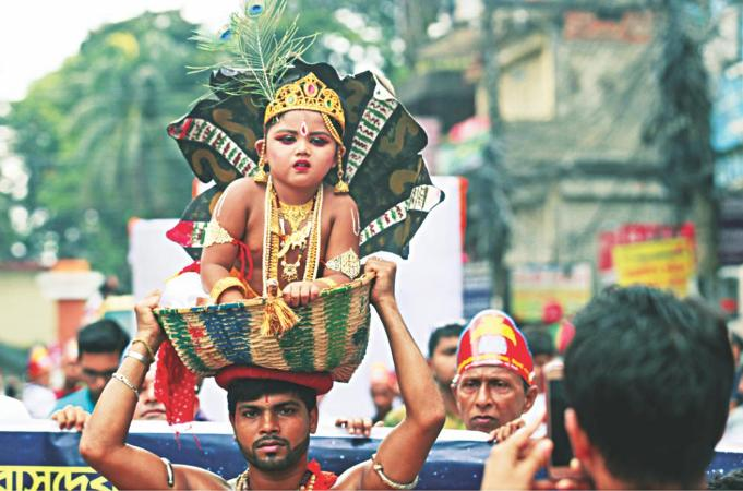 Janmashtami being celebrated across country
