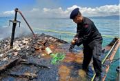 22 missing after Indonesia ferry fire