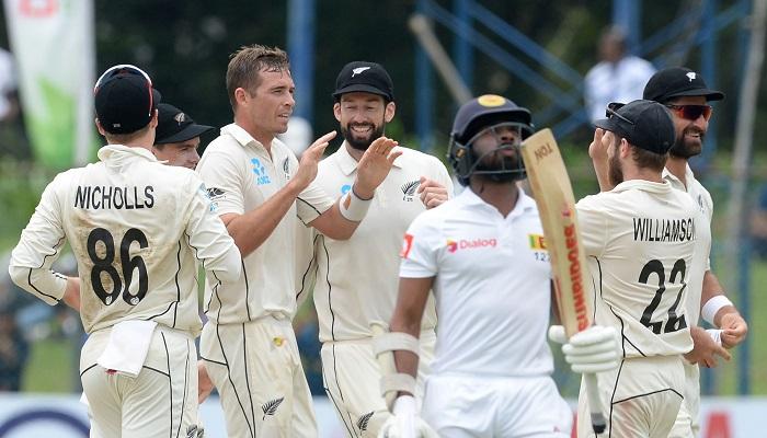 Boult, Southee rattle Sri Lanka in rain-hit Test