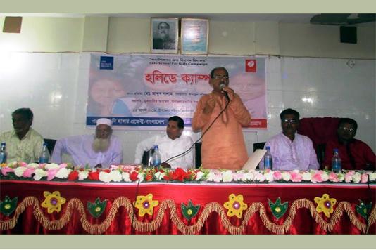 Students pledge of raising voice against child marriage