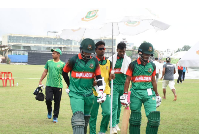 Emerging Cricket: Bangladesh set 268-run target for Sri Lanka in series decider