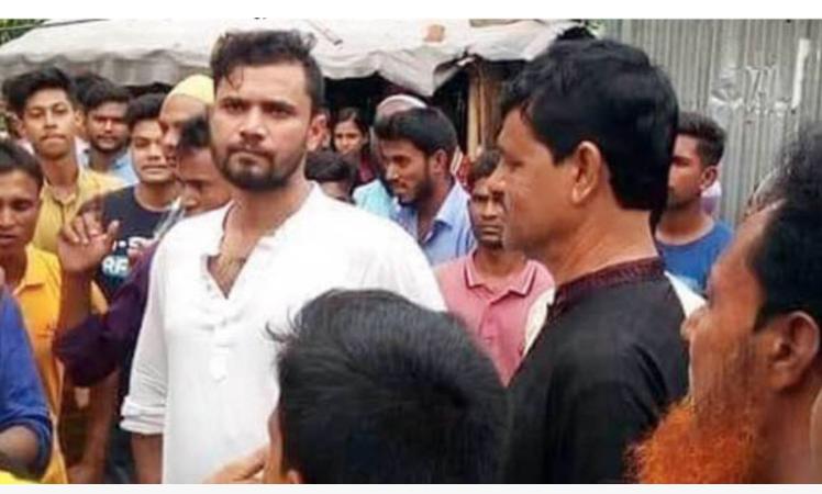 Mashrafe visits his domestic help's house in Sherpur