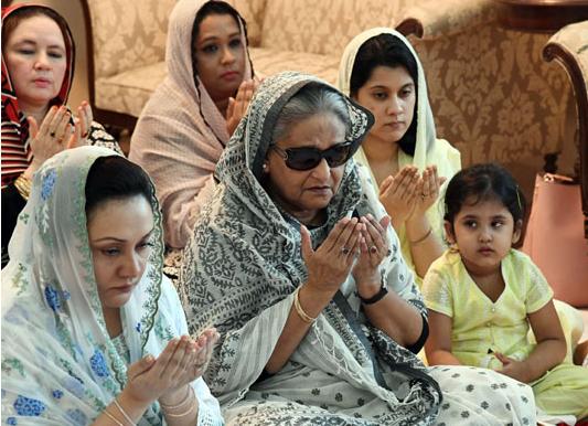 PM joins milad for Ivy Rahman