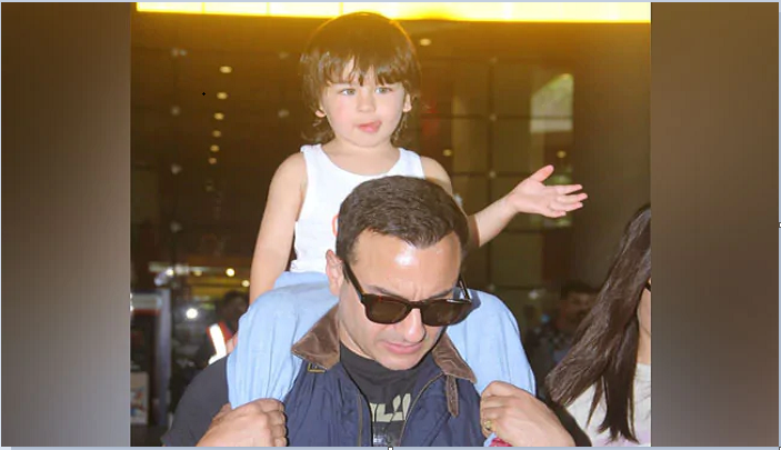 Angry Saif Ali Khan yells at paparazzi taking pics of Taimur (Video)