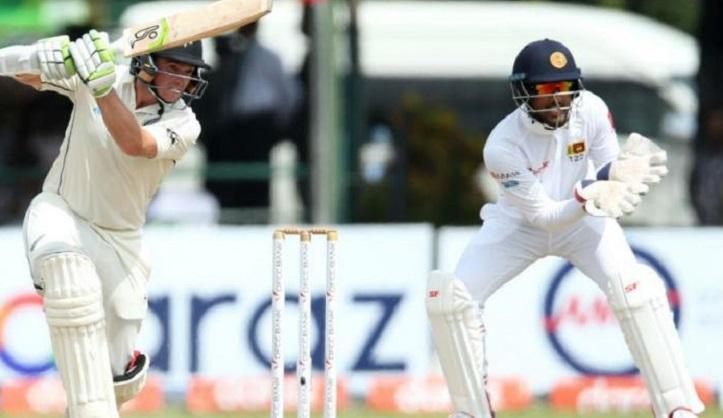 Latham ton drives New Zealand's reply against Sri Lanka