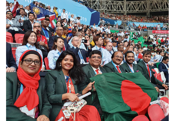 Bangladesh joins 'WorldSkills' contest in Russia