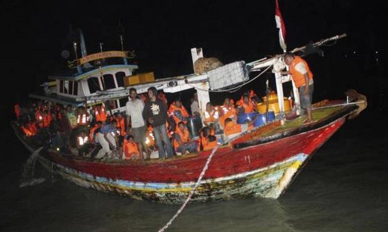 Indonesian rescuers search for 34 missing after ferry fire, 3 dead