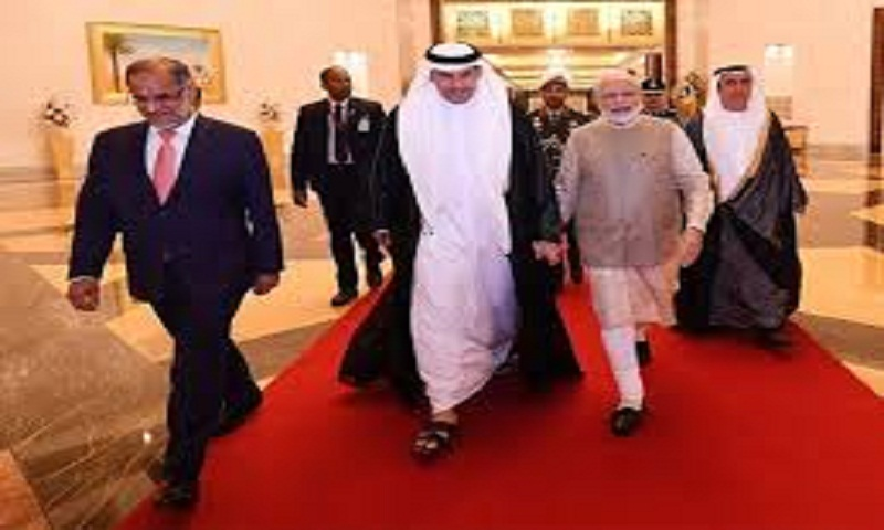 Indian PM Narendra Modi reaches UAE, set to strengthen strategic ties