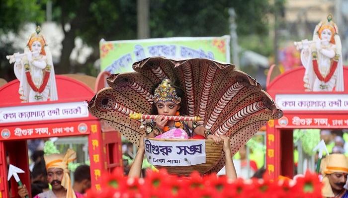 Janmashtami celebrated across country