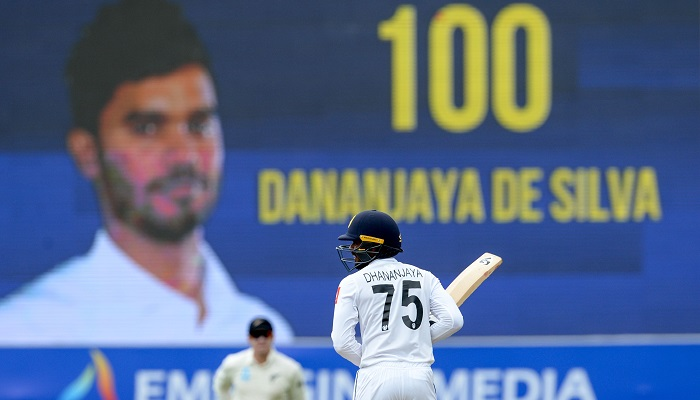Dhananjaya ton lifts Sri Lanka to 244 against New Zealand