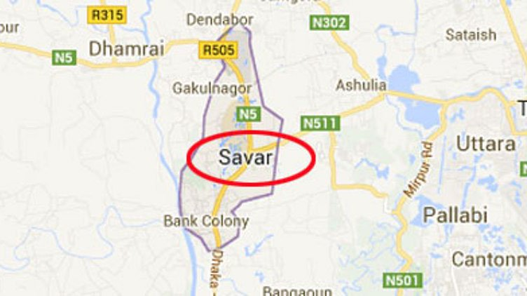 Pedestrian dies in road crash in Savar