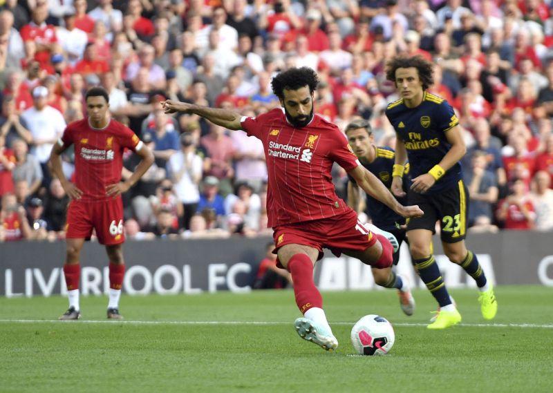 Salah stars as Liverpool surge past Arsenal