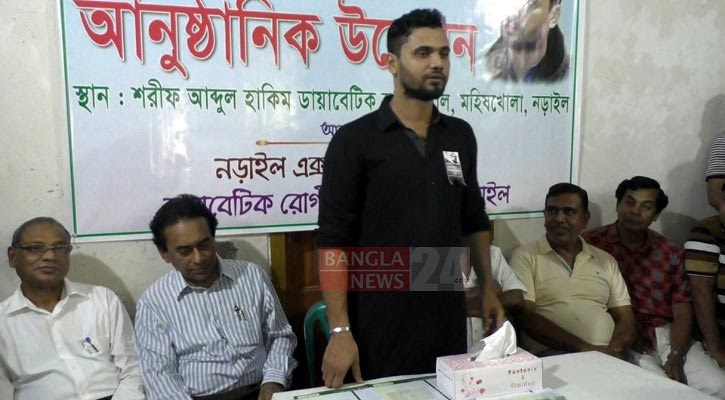 Mashrafe sponsors treatment from specialist doctors only at Tk 50