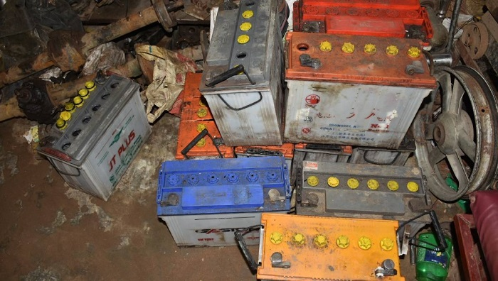Acid, lead from expired batteries threaten health, environment in Khulna
