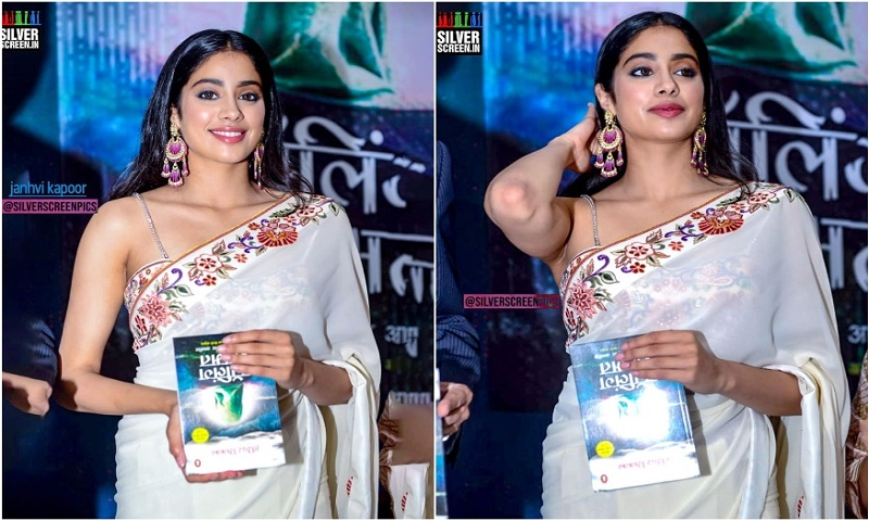 Janhvi Kapoor trolled for holding book upside down at book launch event