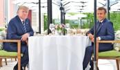 Trump, EU clash over trade at G7 opening