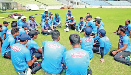 Shakib joins preparation camp