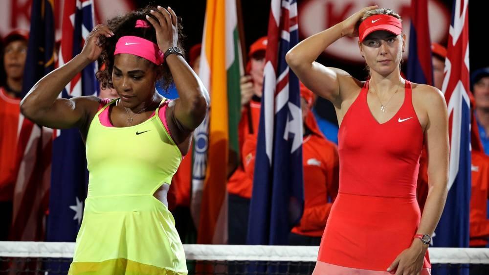 Serena-Sharapova showdown seizes sportlight at US Open