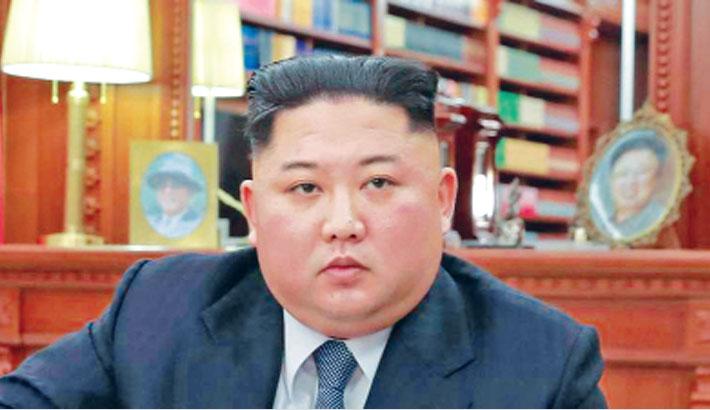 N Korea's Kim oversaw test of 'multiple rocket launcher'