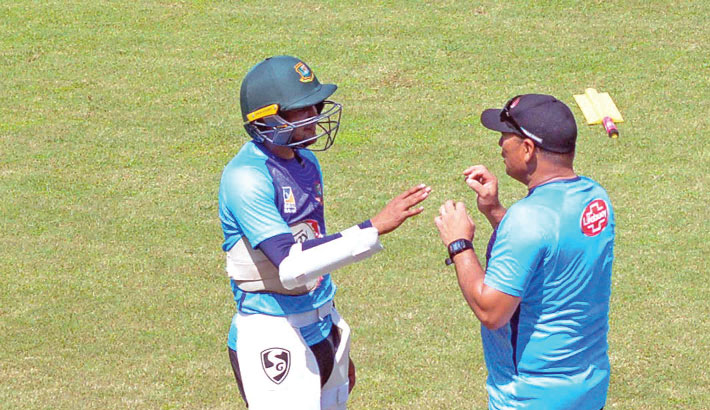 Shakib gets into Test-mode
