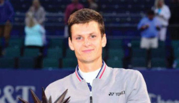 Hurkacz wins first ATP title