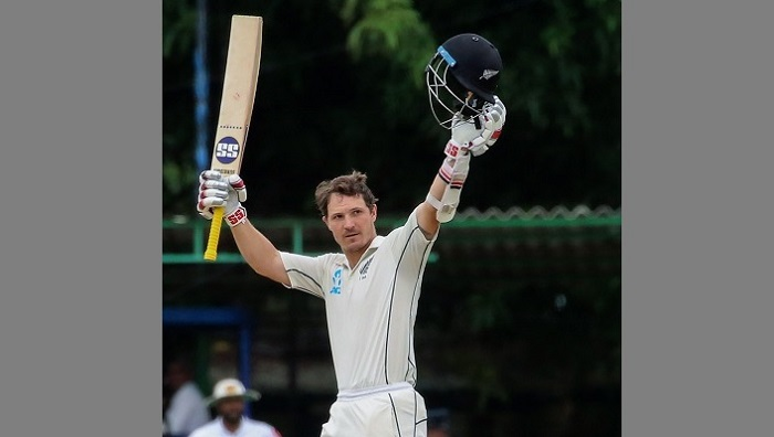 Watling hits ton as New Zealand declare with 187-run lead