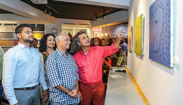 Kolkata artist Sukhamoy's solo exhibition kicks off at Cosmos Atelier71