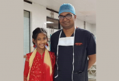 Nupur returns home after successful minimally invasive cardiac surgery at NICVD