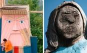 Trump statue erected in Melania's home country Slovenia