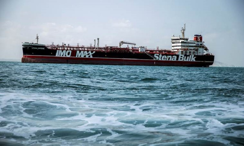 US imposes sanctions on wandering Iranian oil tanker