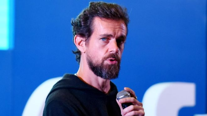 Twitter CEO Dorsey's account sent racist tweets after hack