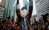 Hundreds rally as 13th weekend of Hong Kong protests starts