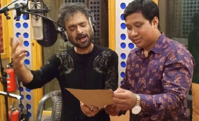 Nachiketa records song on Bangabandhu