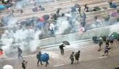 Tear gas, petrol bombs as HK centre engulfed by chaos