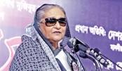 Hasina corrects BKSAL history distorted by Bangabandhu killers