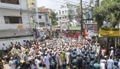 Chase and counter chase during eviction drive at Mohammadpur