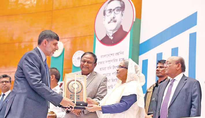 65 cos awarded with Nat'l Export Trophy
