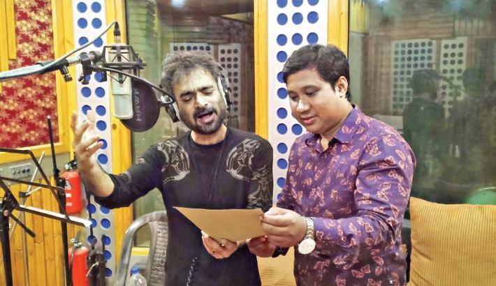 Nachiketa lends voice to a song on Bangabandhu