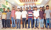 9 extortionists  held in two districts