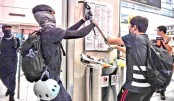 Flights cancelled after HK protesters target airport