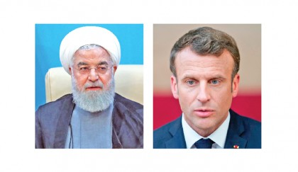 Rouhani warns Macron of looming nuclear step
