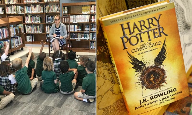 School bans 'Harry Potter' books on exorcist advice
