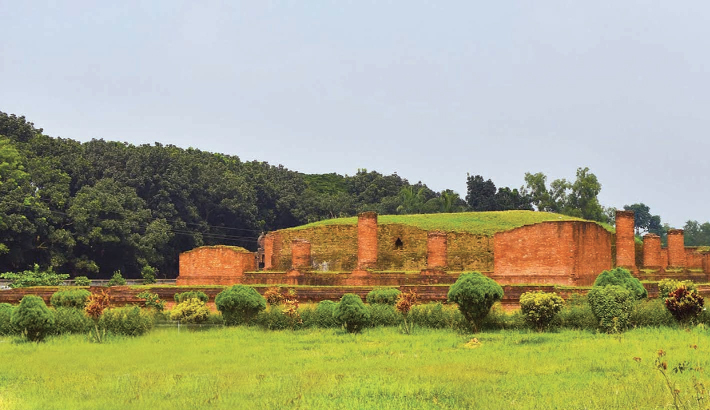 Shalban Vihara, a unique religious tourism site