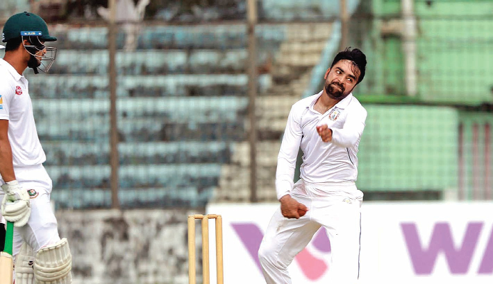 Afghanistan spinners gain psychological edge