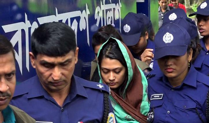 Minni's bail order reaches Barguna court