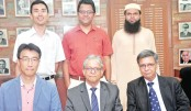 Chinese team meets DU VC