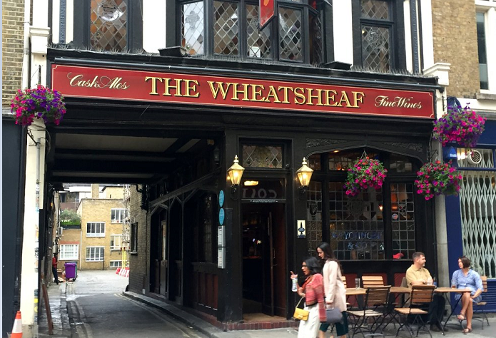 'London literary pub' tour brings writers and writing home