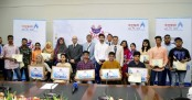 Bashundhara LP Gas awards distributors' brilliant children