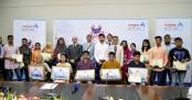 Bashundhara LP Gas awards distributors' brilliant children