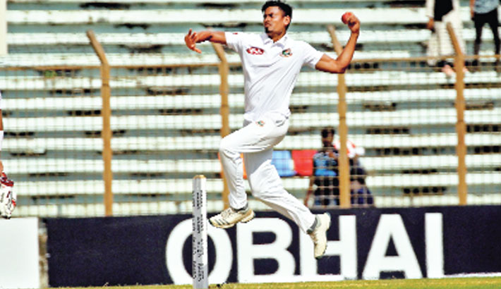 Taijul fastest Bangladeshi to 100 Test wickets